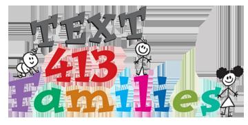 Text 413 Logo
